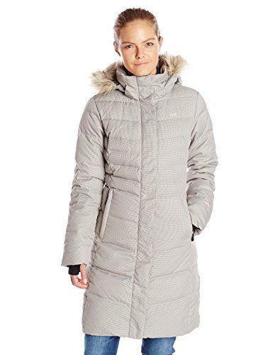 LOLE Women's Katie Coat with Faux-Fur Trim