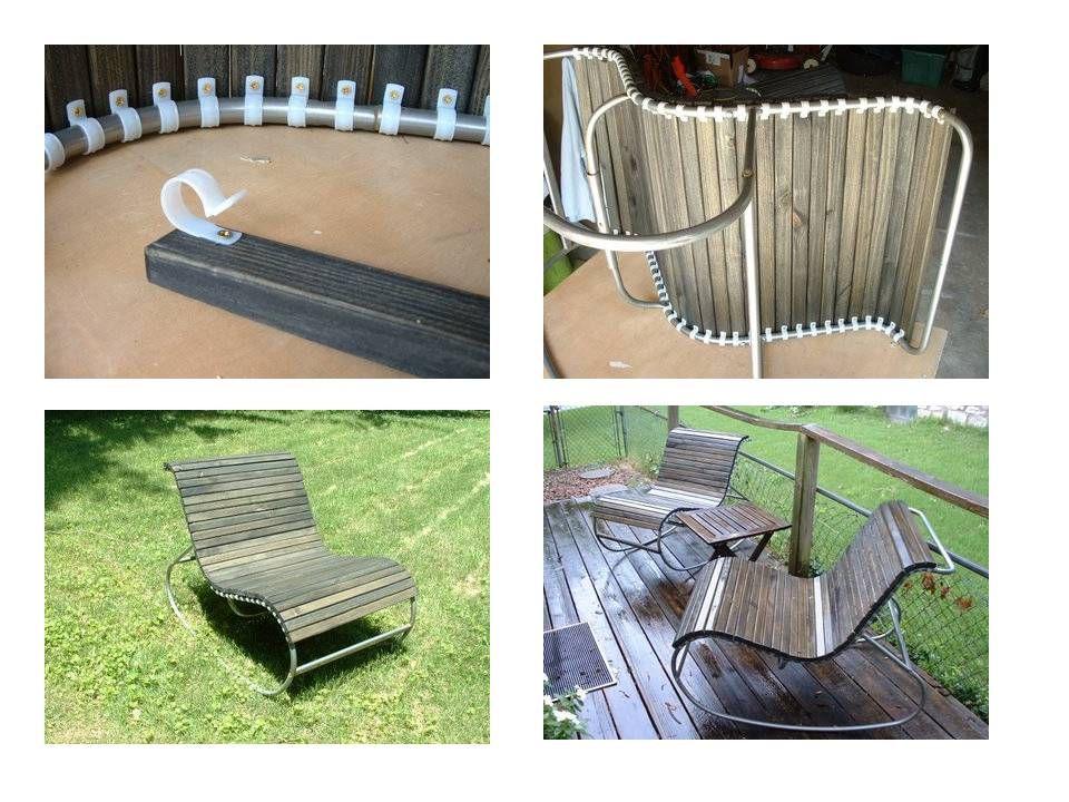 ikea hack patio chair turquoise DIY INTERIORS Pinterest
