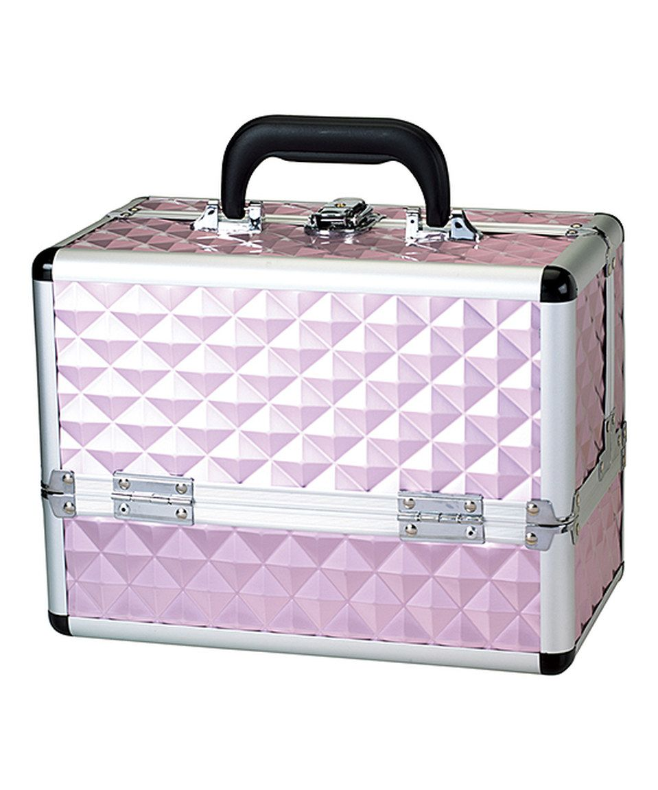 Love This Pink Diamond Makeup Case By Upper Canada Soap On Zulily Zulilyfinds Pink Diamond Makeup Case Makeup Vanity Storage