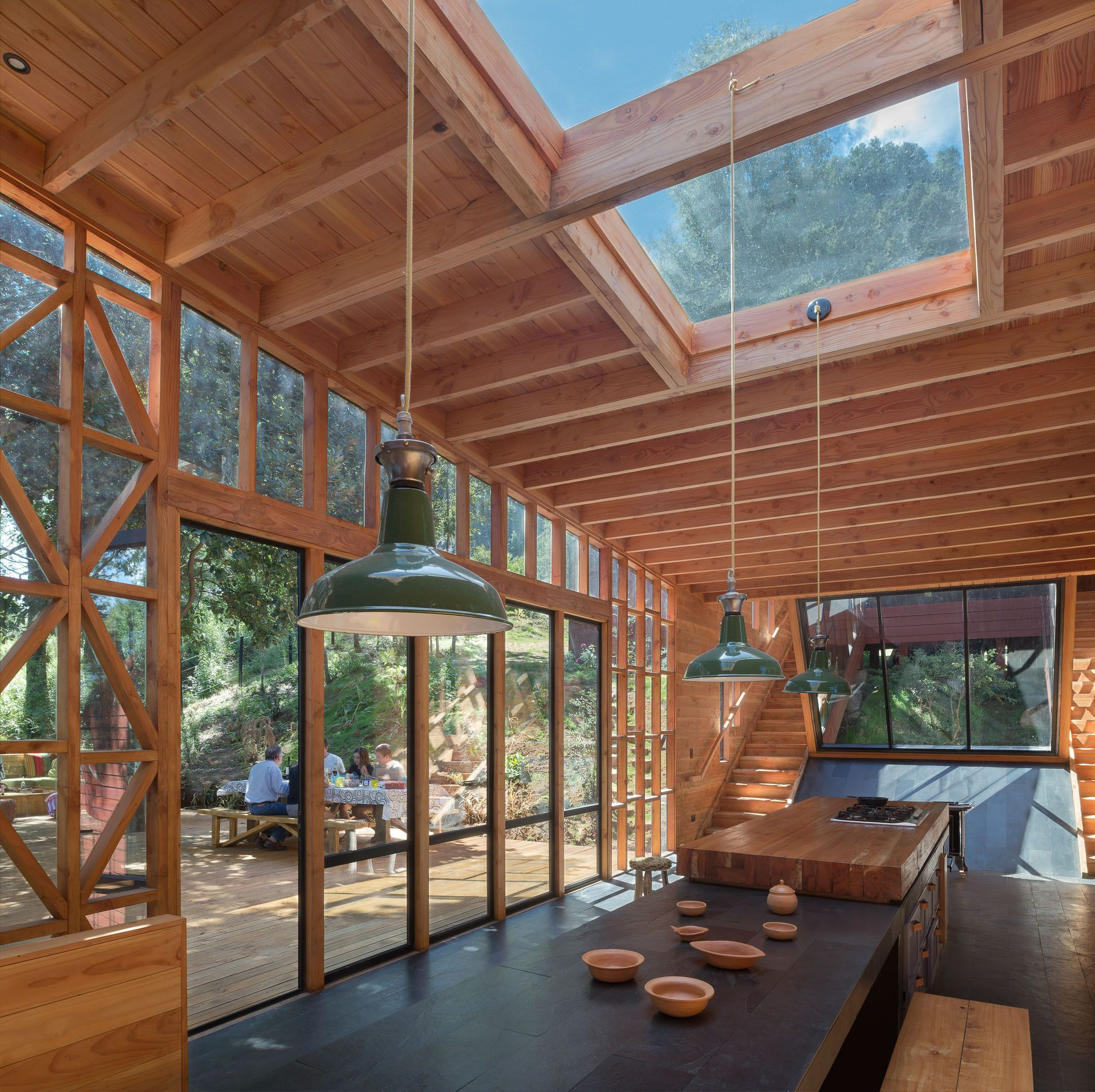 2Y House / Sebastián Irarrázaval | Innenarchitektur, Dachs und ...