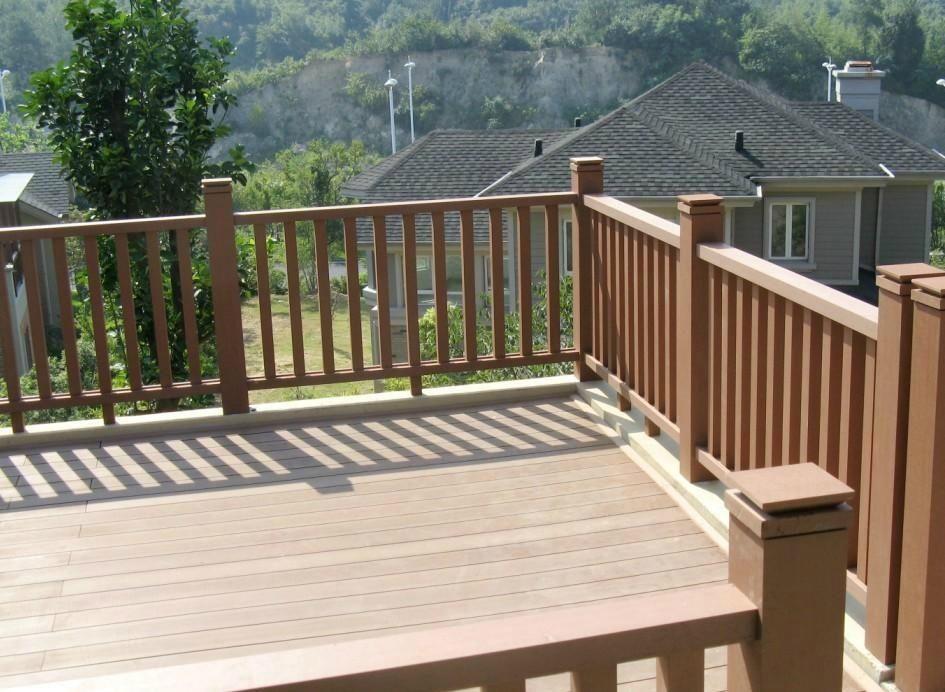 hot sale composite balcony floor Nigeria best wood and plastic