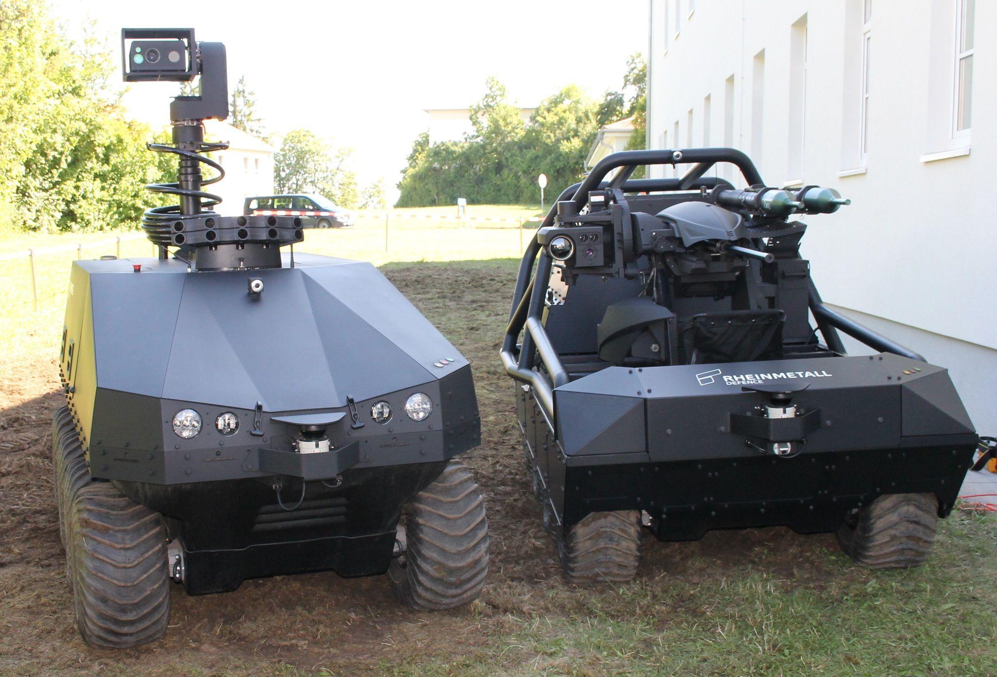 Rheinmetall Defence MM UGV | Future Military Defence
