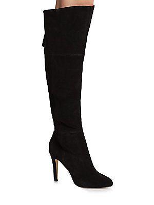 f9da0fe9a04 DOLCE VITA KAVAN SUEDE KNEE-HIGH BOOTS.  dolcevita  shoes