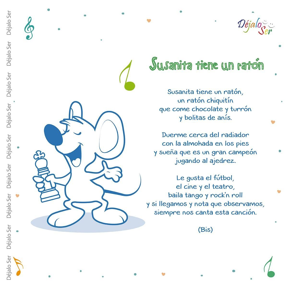 Cancion Infantil Para Ninos De 3 5 Anos Letras De Canciones Infantiles Canciones Preescolar Poemas Infantiles