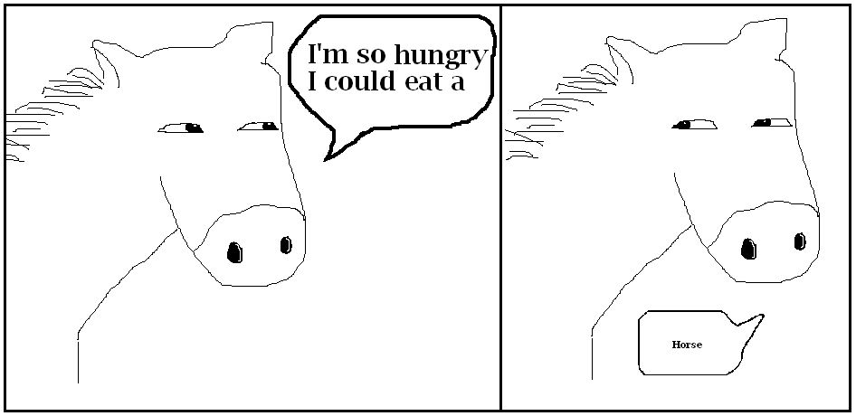 I'm So Hungry...