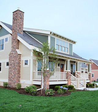 American Bungalow Craftsman Exterior   Traditional   Exterior   Milwaukee    K Architectural Design, LLC