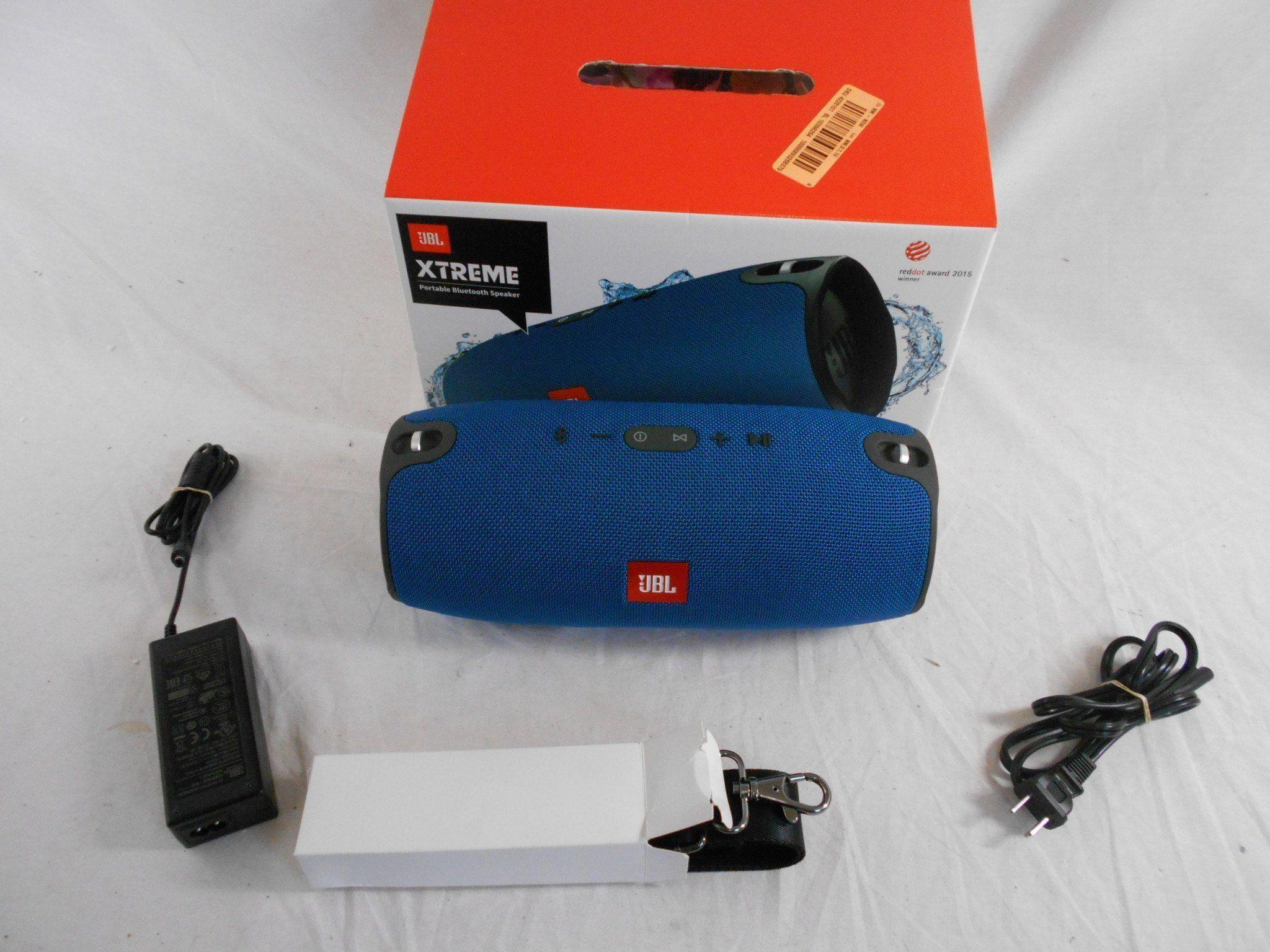 New JBL Xtreme Portable Wireless Bluetooth Speaker - Blue