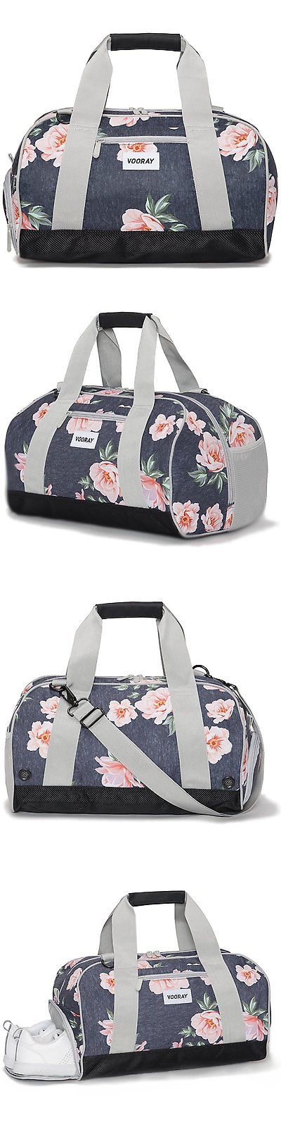 Gym Bags 68816 Vooray Burner 16 Compact Bag With Shoe Pocket Rose Navy