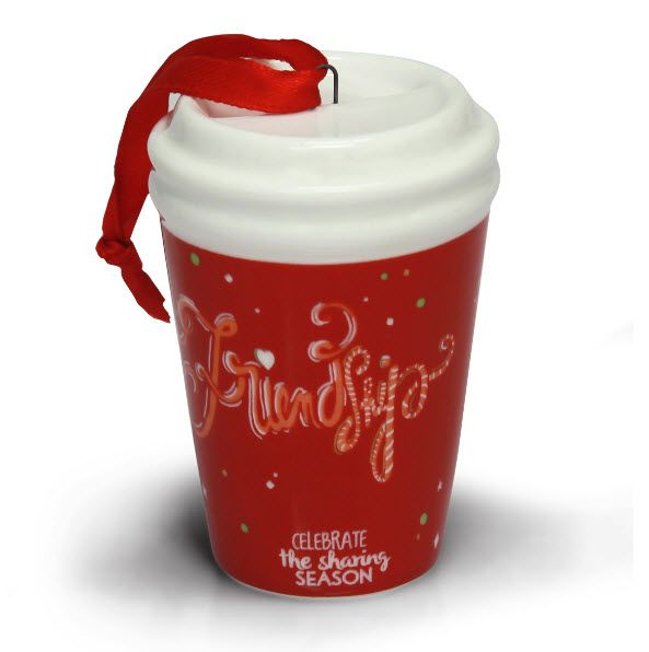 2014 Friendship Holiday To Go Cup from Gloria Jean's