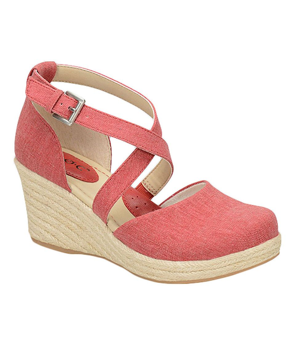 255b96a7d0f Take a look at this Apple Canvas Bree Espadrille - Women today ...