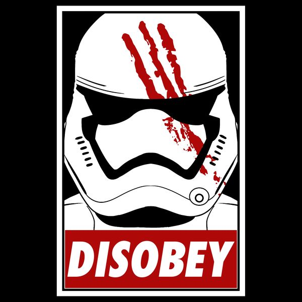 Disobey the trooper awakens