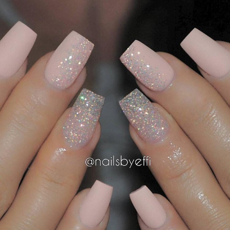 The girls nails but thinking in white ? | Our Wedding | Pinterest ...