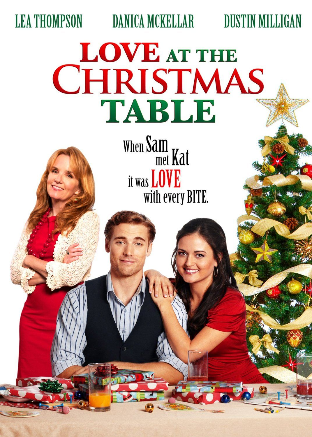 amazoncom love at the christmas table mckellar thompson milligan patterson movies tv - Amazon Christmas Movies