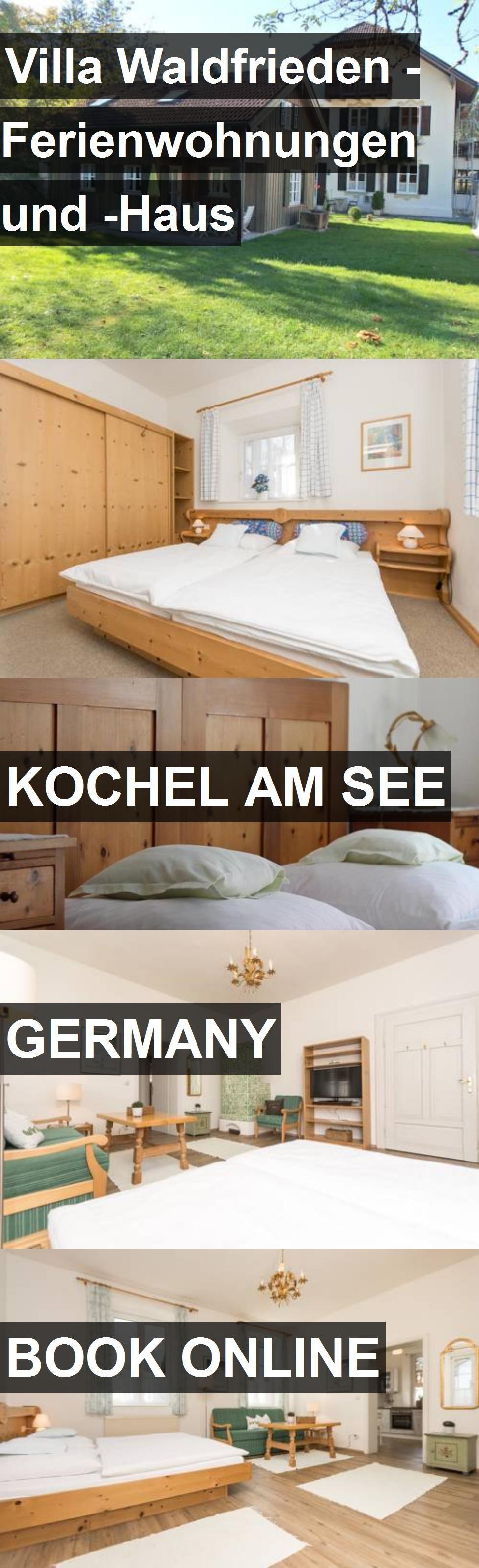 Hotel Villa Waldfrieden Ferienwohnungen und Haus in