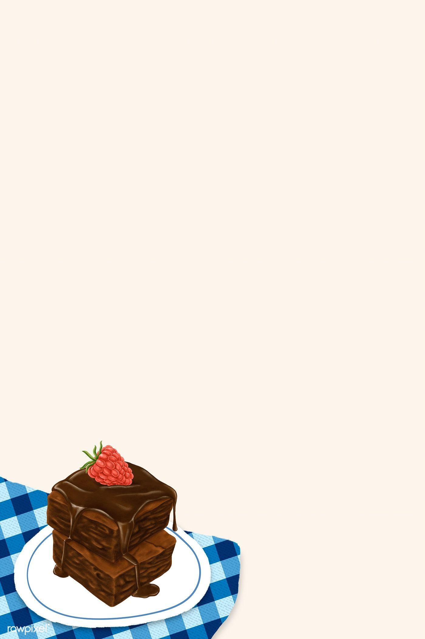 Hand Drawn Bakery Banner Mockup Free Image By Rawpixel Com Noon Melhores Brownies Ilustracao De Bolos Arte De Doces