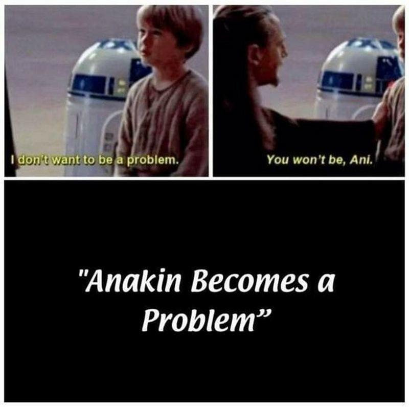 Pin By Valentinas Sinkariovas On Star Wars Memes Funny Star Wars Memes Star Wars Jokes Star Wars Geek