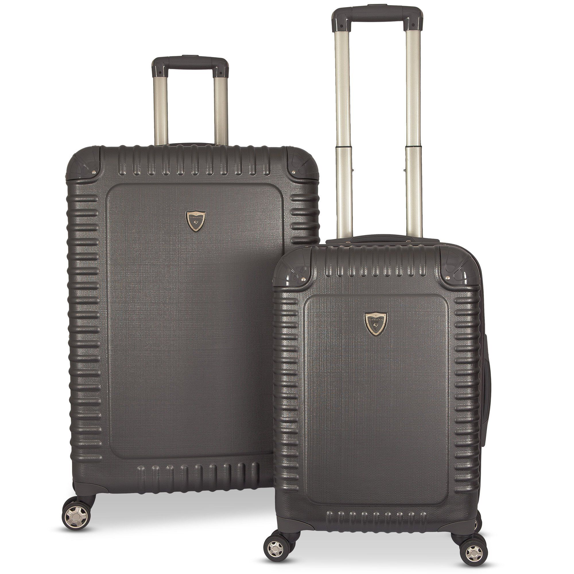 Gabbiano The Armor Collection Hardside 2-Piece Spinner Luggage Set ...
