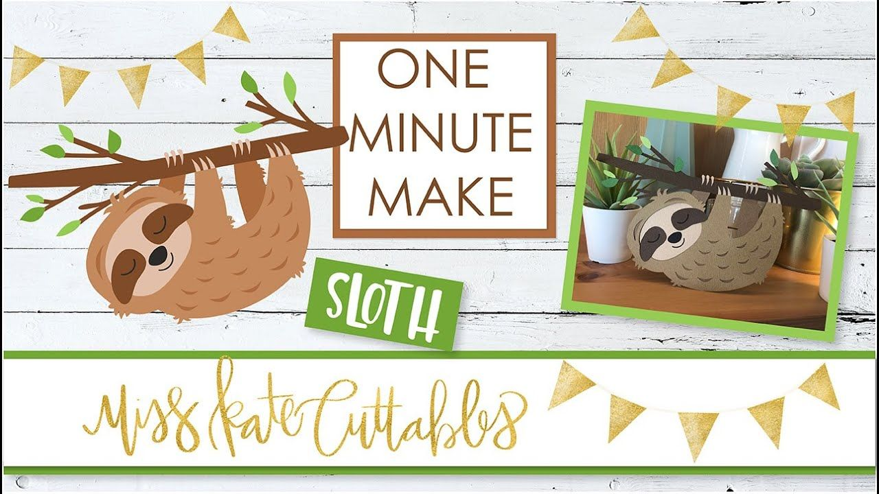 One Minute Make Sloth How To Assemble DIY Tutorial