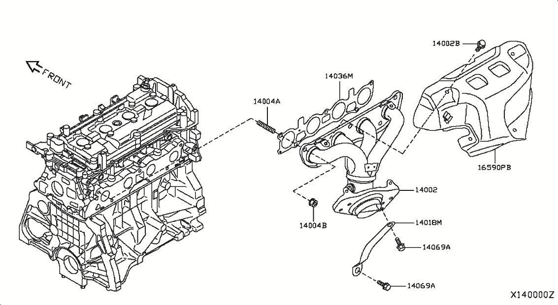 2010 Nissan Versa Hatchback Oem Par Nissan Versa Nissan Online Accessories