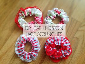 DIY Cath Kidston Lace Hair Scrunchies- Handmade with Paige
