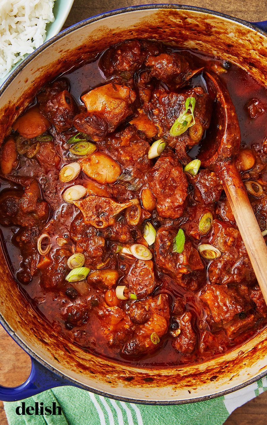 This Oxtail Stew Is The Perfect Weekend Dinner Project Recipe Jamaican Oxtail Stew Oxtail Recipes Oxtail Stew