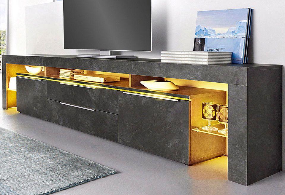 Places of Style Lowboard, Breite 220 cm Jetzt bestellen unter