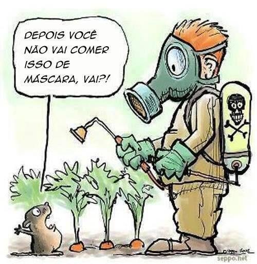 Agrotoxicos Cartum Com Imagens Agrotoxicos Agroecologia
