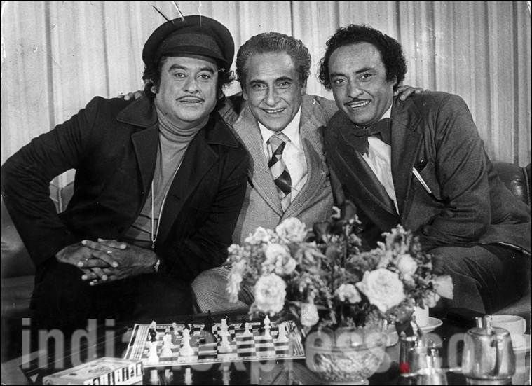 Ashok Kumar desperately didn't want Kishore Kumar to become a singer.  Here's why | Bollywood pictures, Kishore kumar, Bollywood cinema