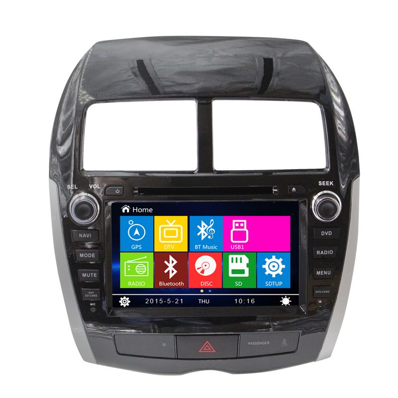 8 Car DVD Player GPS Navigation System for Mitsubishi ASX