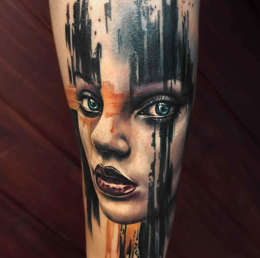 Realism Tattoo For Woman: Pin By Ola Nisko On Tatuaże