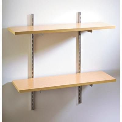 Rubbermaid 68 In Single Track Upright For Wood Or Wire Shelving Fg4a7501utlty Shelves Wire Shelving Rubbermaid