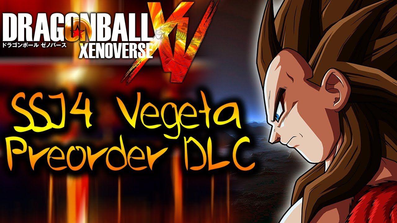 Dragon Ball Xenoverse Super Saiyan 4 Vegeta,Goku Pre order