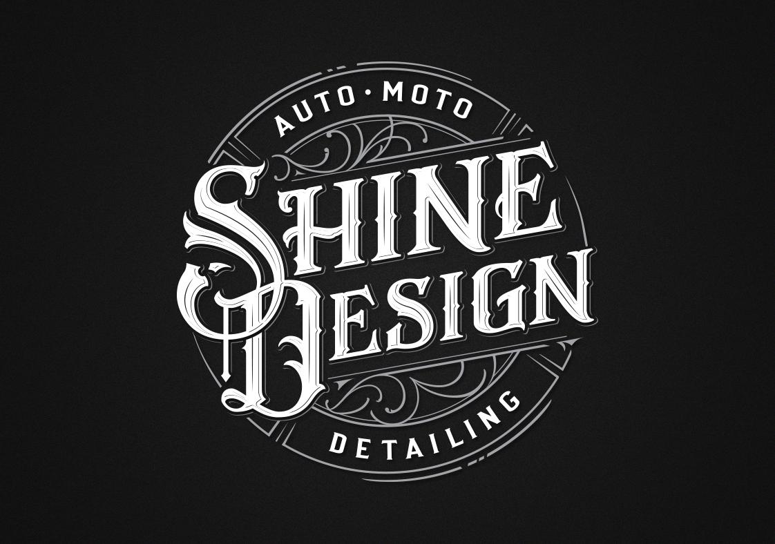 Shine Design by Mateusz Witczak Lettering, typo, logo