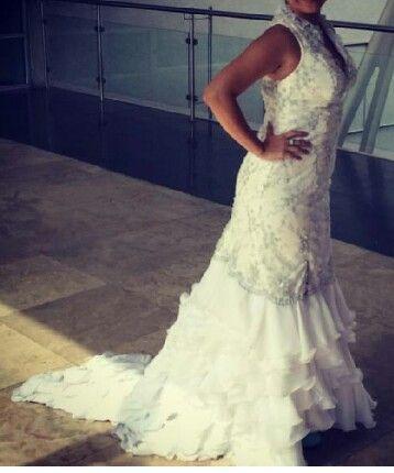 Vestido de novia a la venta. Dise#o exclusivo. Talla M. Estatura ...