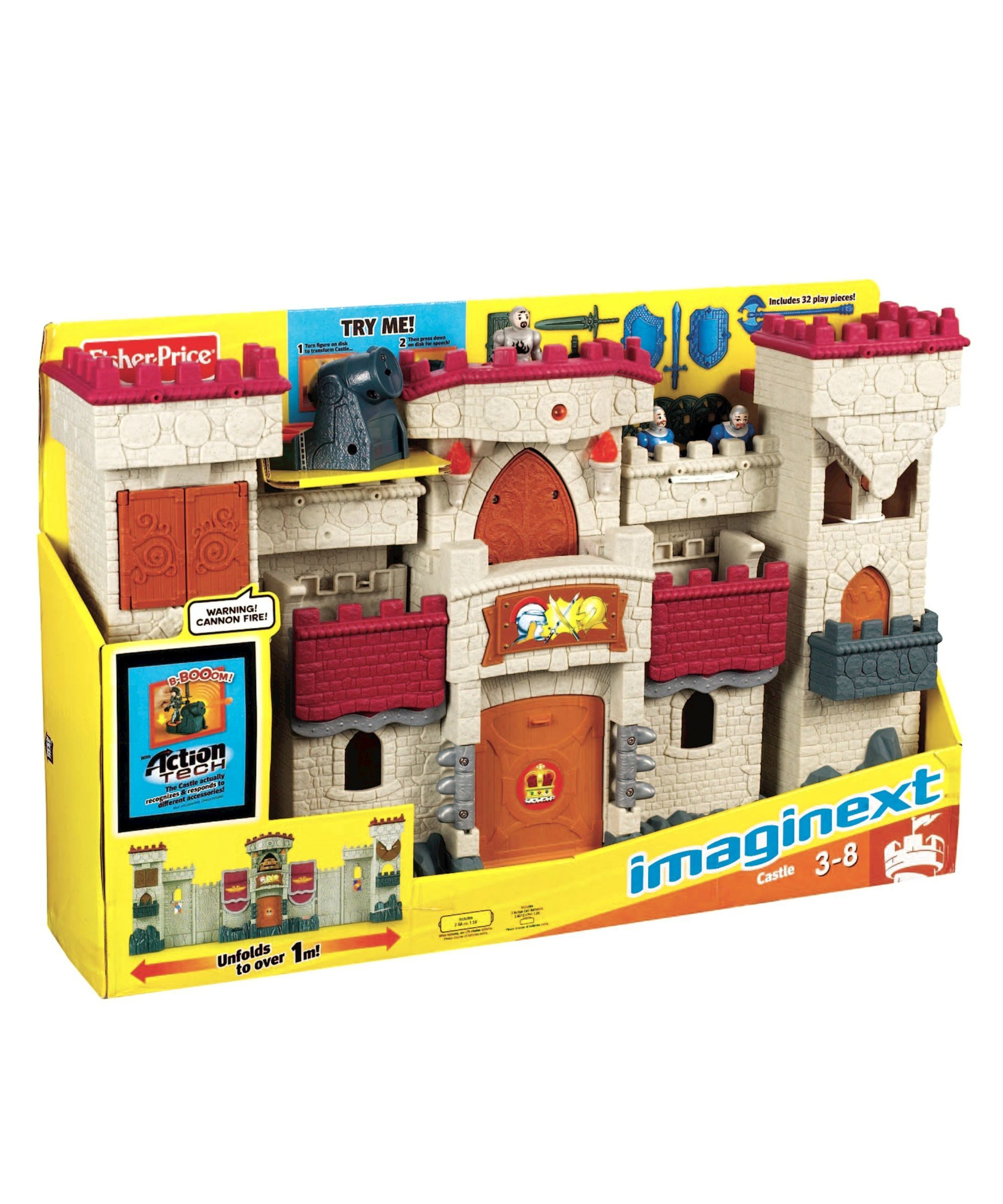 Fisher Price Imaginext Castle Toy castle, Presents for