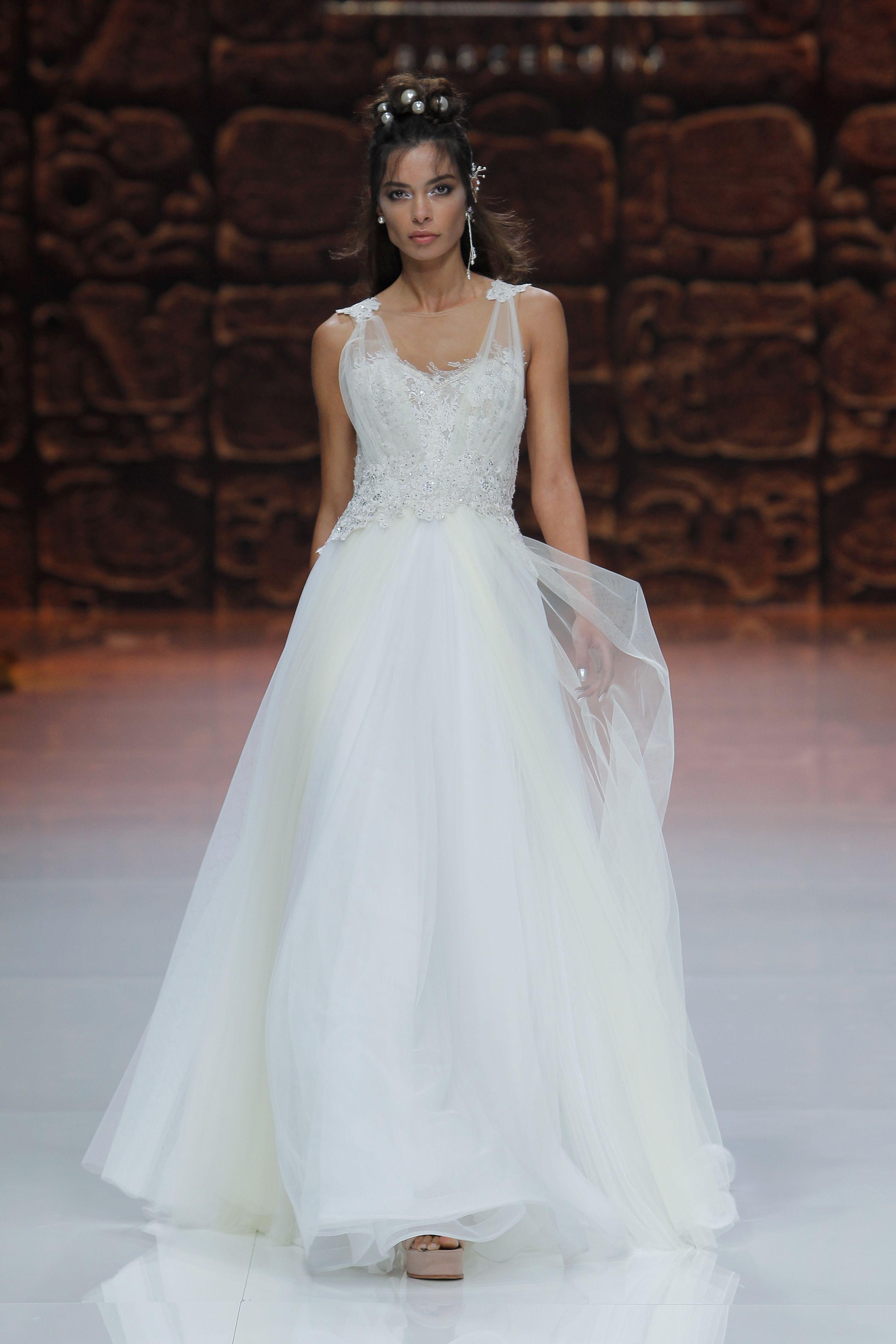 Vestidos de novia Barcelona | Dios del amor, Inmaculada y Lleno