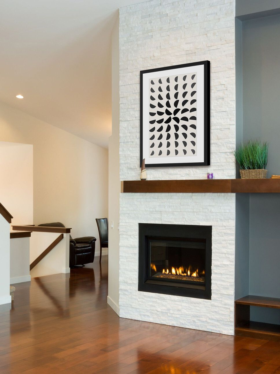 Happy Insight Framed Graphic Art Fireplace Surrounds Fireplace Great Rooms