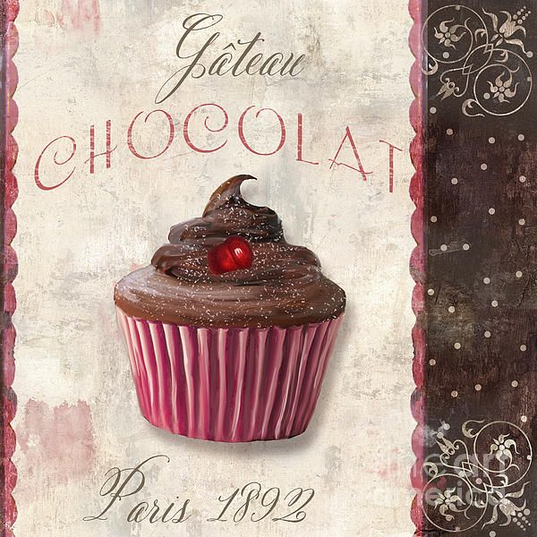 Patisserie Chocolate Cupcake by Mindy Sommers