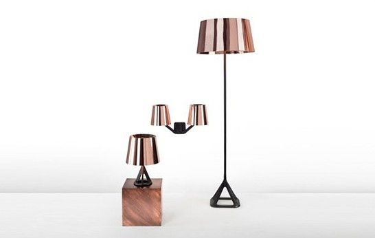Base Copper Lamps by Tom Dixon - 3rings