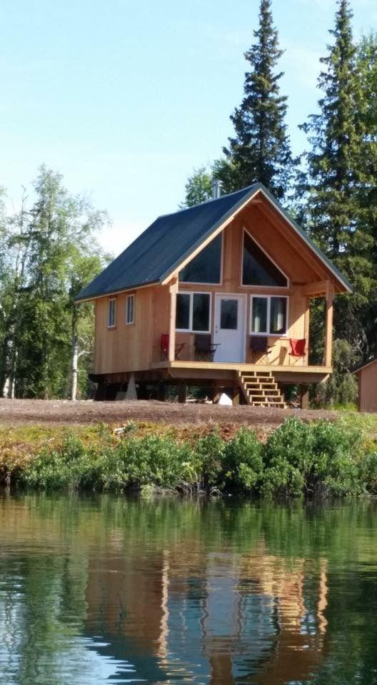 16 By 24 Cabin In Alaska Tiny House Cabin Building A Small House Alaska Cabin
