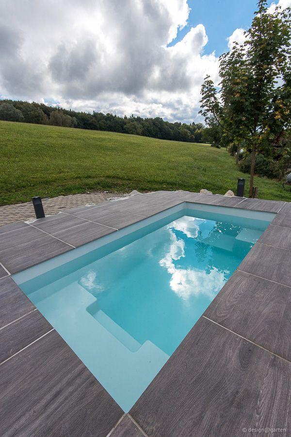 kleiner pool spa pinterest schwimmb der schmale. Black Bedroom Furniture Sets. Home Design Ideas