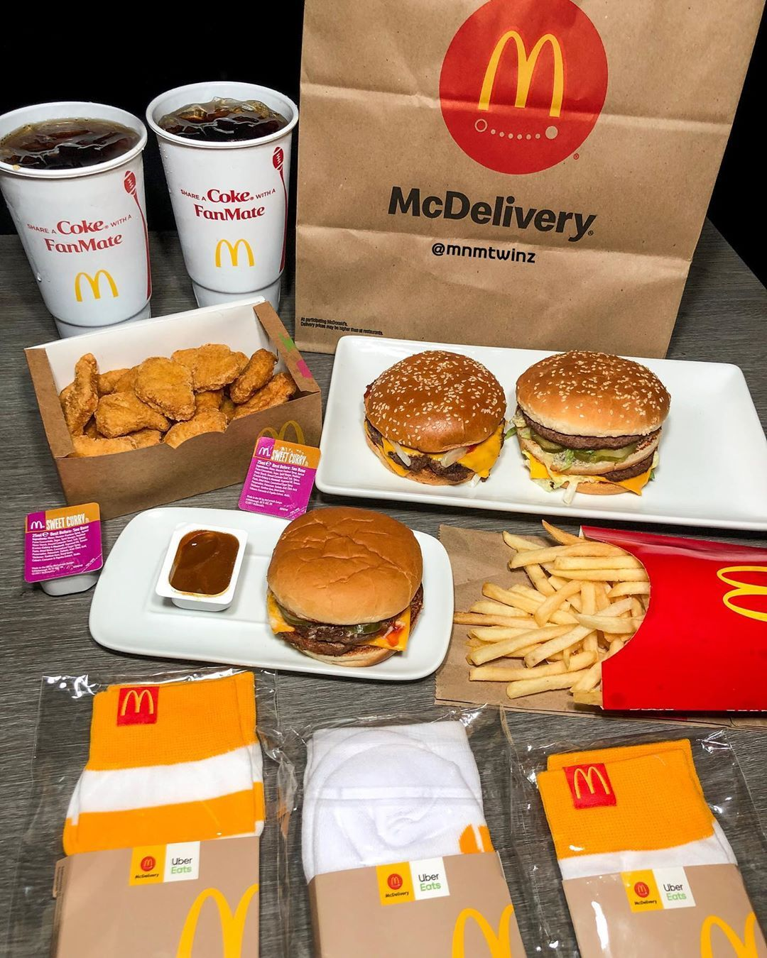 McDelivery mcdonalds (With images) Food