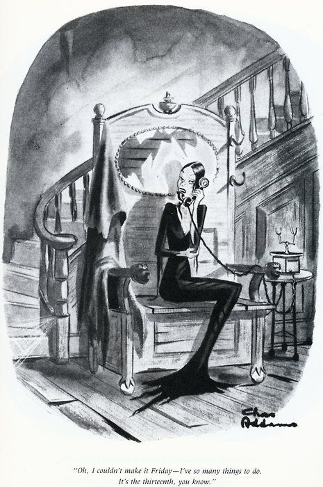 The Addams Family, New Yorker #comicsandcartoonsnewyorker | La famille addams, Maison famille ...