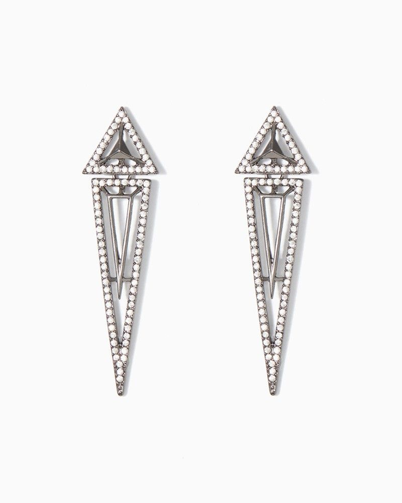 charming charlie Harlow Dagger Earrings charmingcharlie Silver