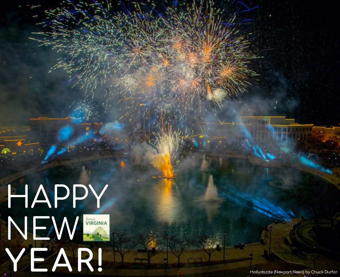 Happy New Year From Scenic Virginia Photo Hollydazzle Newport