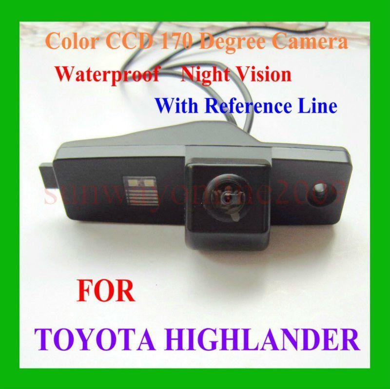 Toyota HIGHLANDER камера заднего вида CCD автомобиль зад вид