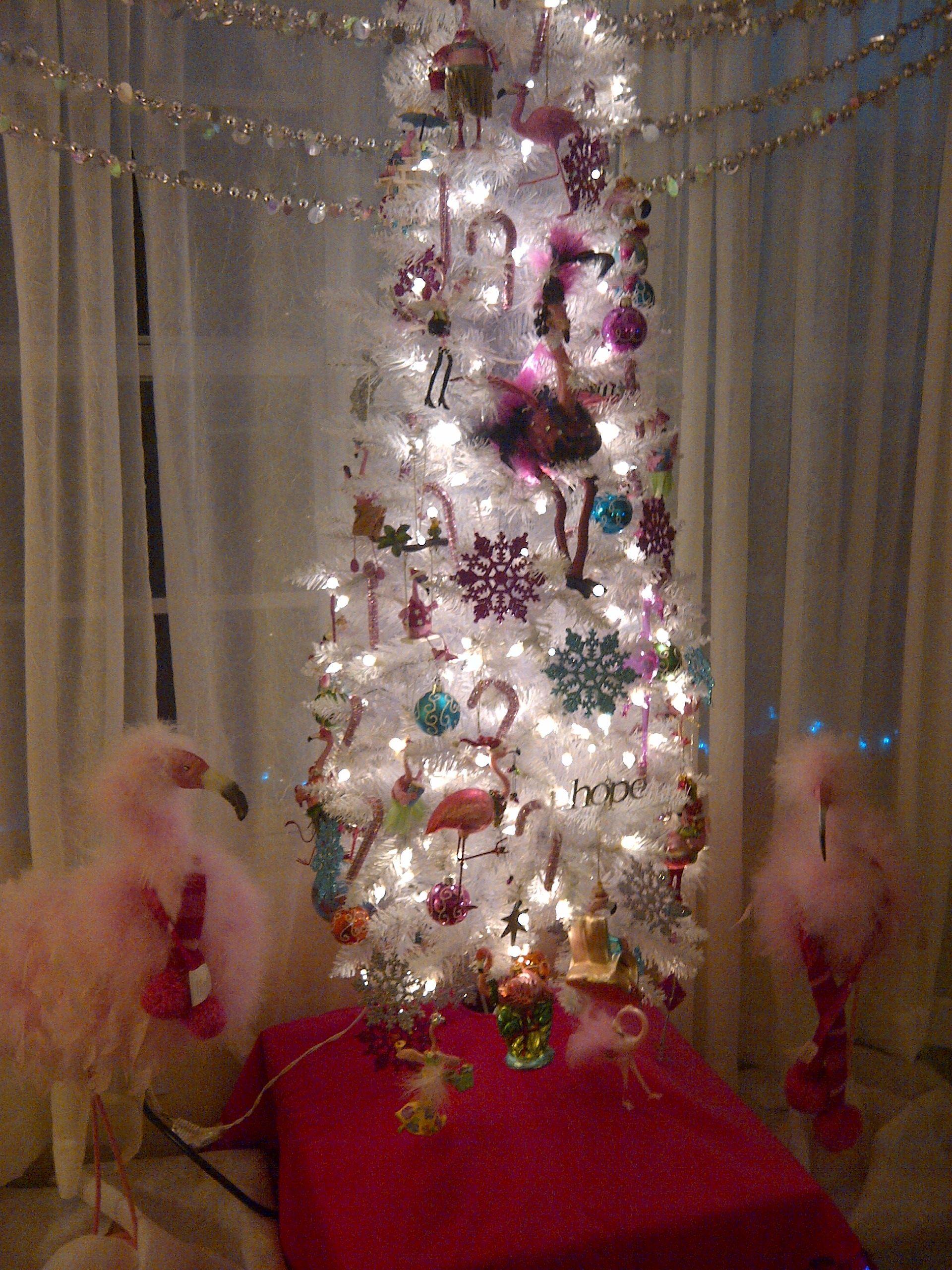 Flamingo Christmas Tree Megan Would Love This