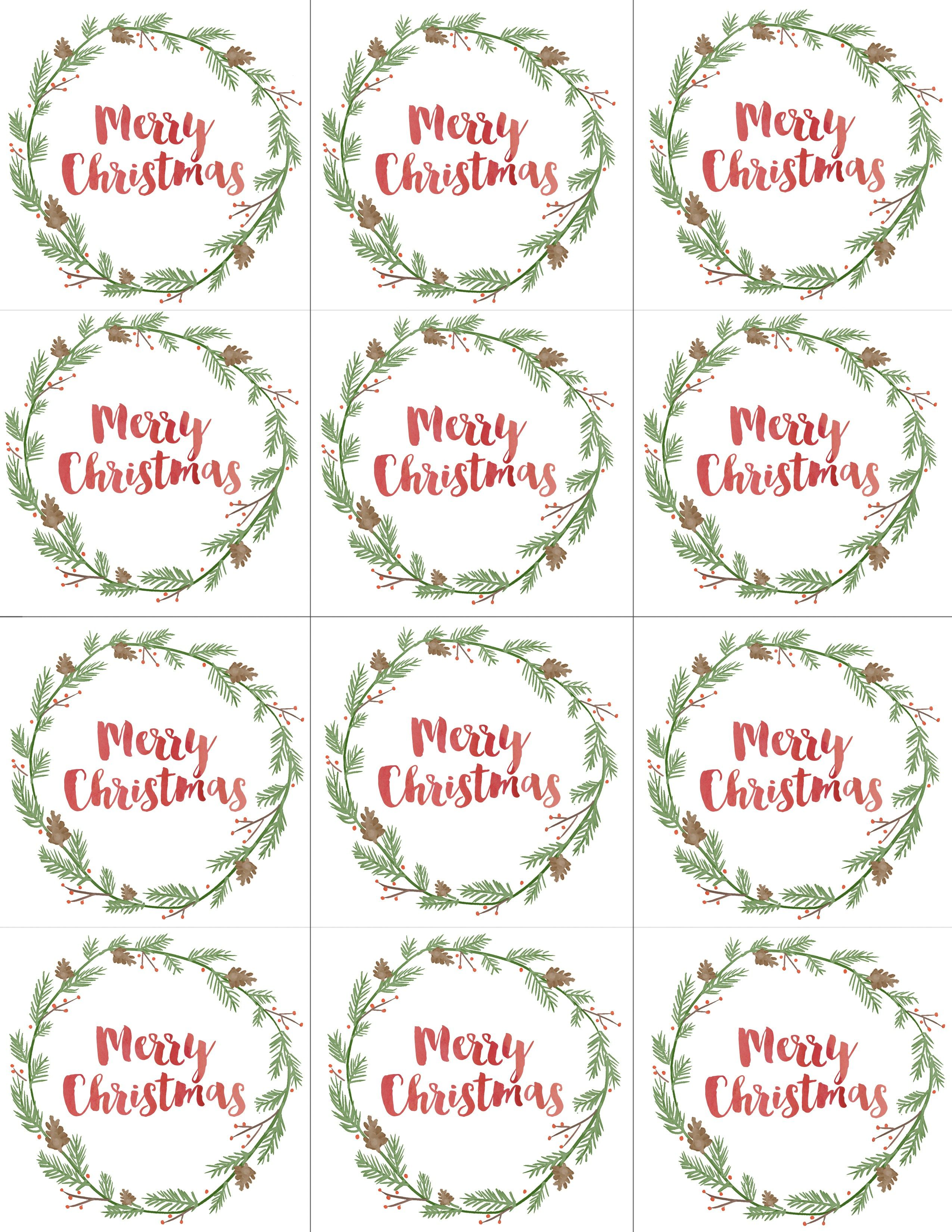 Hand Painted T Tags Free Printable