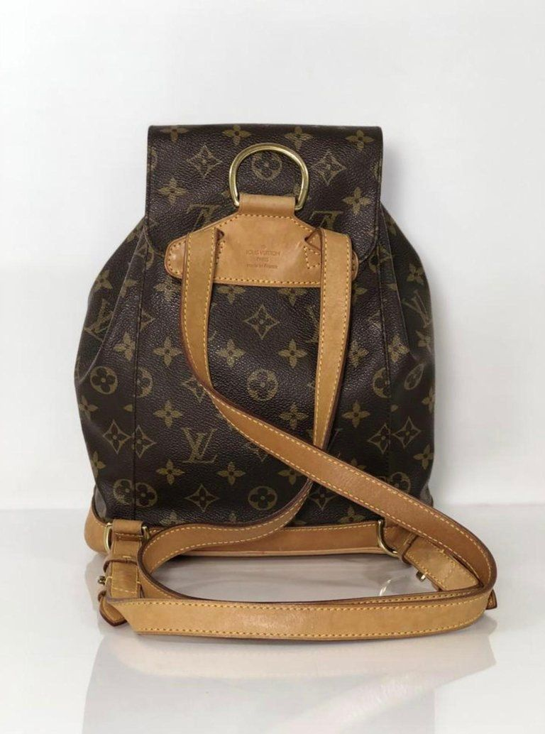 309dd1b6f21 Louis Vuitton Monogram Montsouris MM Backpack in 2019 | F a $h ! On ...