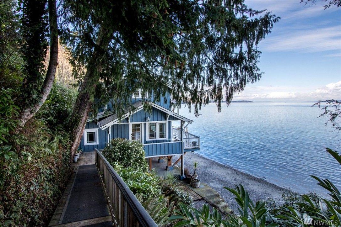 10650 Ne Gertie Johnson Rd Bainbridge Island Wa Islandbeach Cottageteriorbeach Houses